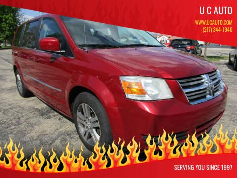 2010 Dodge Grand Caravan for sale at U C AUTO in Urbana IL