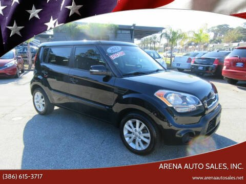 2012 Kia Soul for sale at ARENA AUTO SALES,  INC. in Holly Hill FL