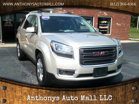 2015 GMC Acadia for sale at Anthonys Auto Mall LLC in New Salisbury IN