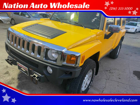 2006 HUMMER H3 for sale at Nation Auto Wholesale in Cleveland OH