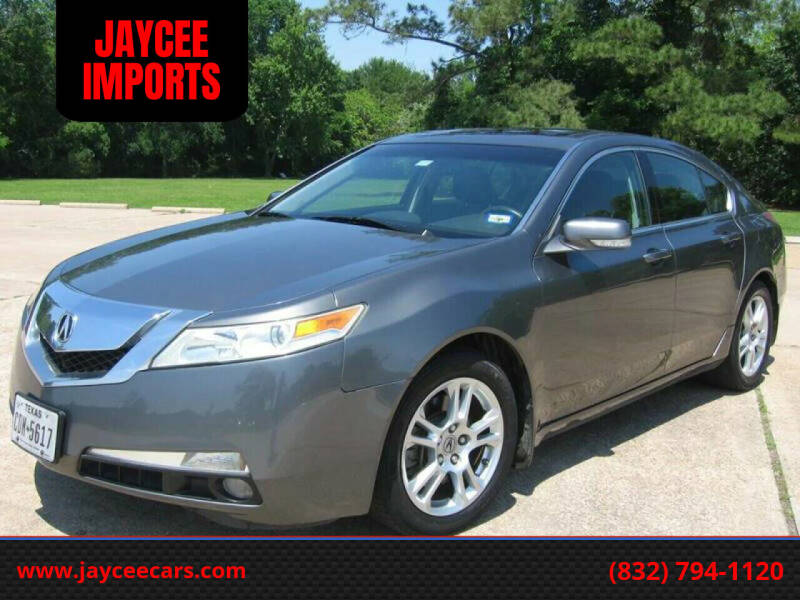 2009 Acura TL for sale at JAYCEE IMPORTS in Houston TX