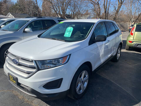 2016 Ford Edge for sale at PAPERLAND MOTORS - Fresh Inventory in Green Bay WI