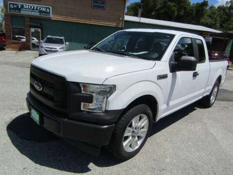 2016 Ford F-150 for sale at S & T Motors in Hernando FL