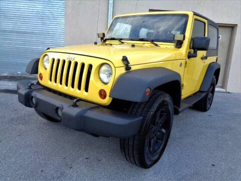 2008 Jeep Wrangler for sale at Selective Motor Cars in Miami FL