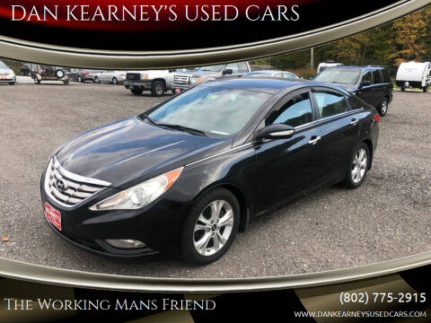 2011 Hyundai Sonata for sale at DAN KEARNEY'S USED CARS in Center Rutland VT