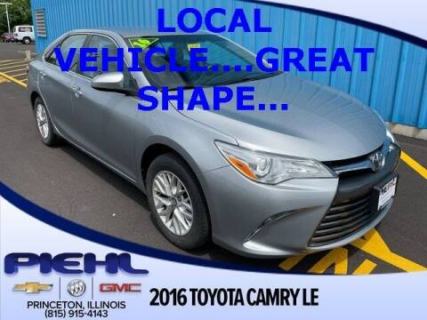 2016 Toyota Camry for sale at Piehl Motors - PIEHL Chevrolet Buick Cadillac in Princeton IL