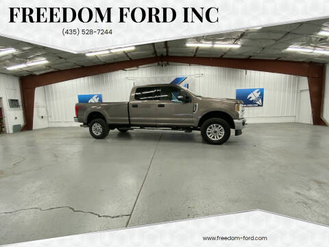2019 Ford F-350 Super Duty for sale at Freedom Ford Inc in Gunnison UT