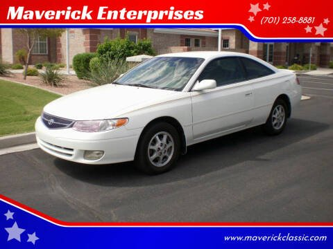 2000 Toyota Camry Solara for sale at Maverick Enterprises in Pollock SD