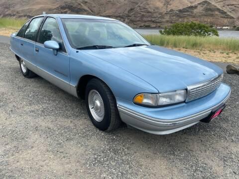 1991 Chevrolet Caprice for sale at Clarkston Auto Sales in Clarkston WA