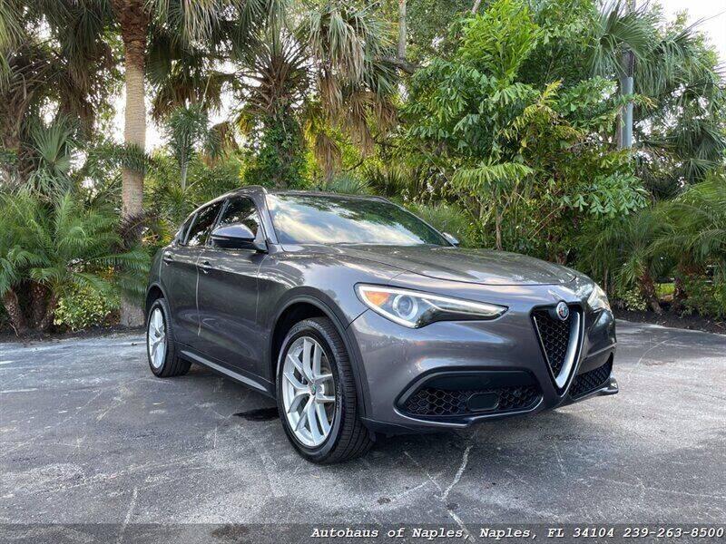2018 Alfa Romeo Stelvio for sale at Autohaus of Naples in Naples FL