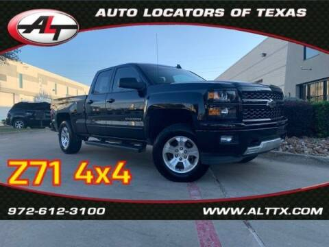 2015 Chevrolet Silverado 1500 for sale at AUTO LOCATORS OF TEXAS in Plano TX
