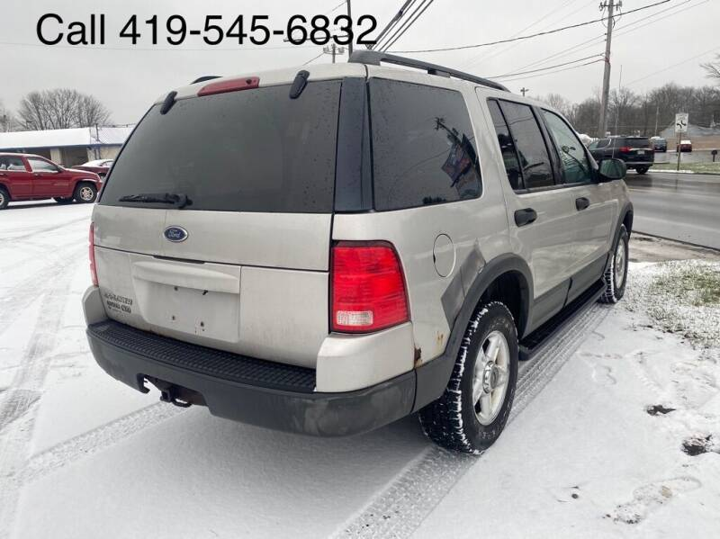 2003 Ford Explorer for sale at KRIS RADIO QUALITY KARS INC in Mansfield OH