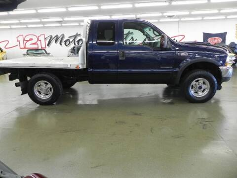 2002 Ford F-250 Super Duty for sale at 121 Motorsports in Mt. Zion IL