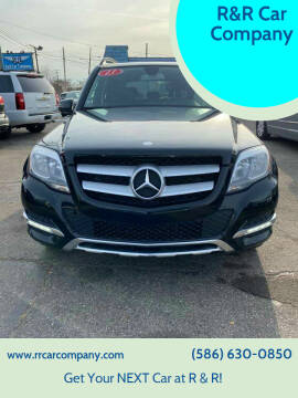 2013 Mercedes-Benz GLK for sale at R&R Car Company in Mount Clemens MI