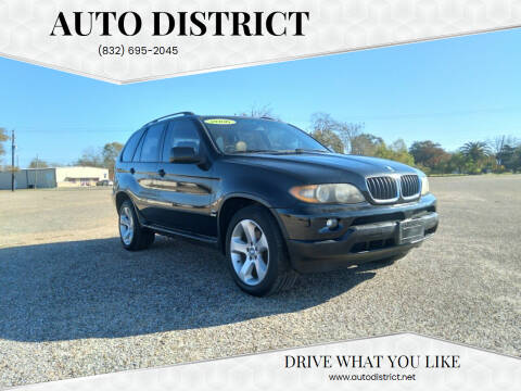 2006 BMW X5 for sale at Auto District in Baytown TX
