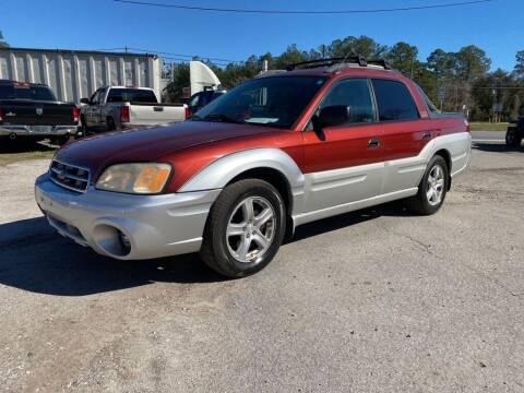 2003 Subaru Baja for sale at Right Price Auto Sales in Waldo FL