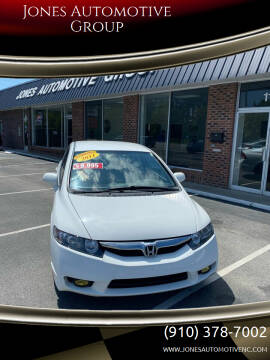 2011 Honda Civic for sale at Jones Automotive Group in Jacksonville NC