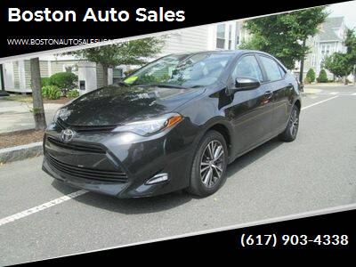 2017 Toyota Corolla for sale at Boston Auto Sales in Brighton MA