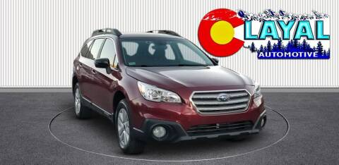 2017 Subaru Outback for sale at Layal Automotive in Englewood CO