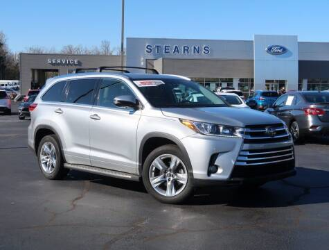 2018 Toyota Highlander for sale at Stearns Ford in Burlington NC