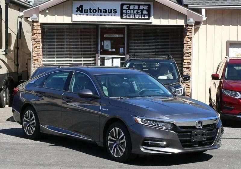 2019 Honda Accord Hybrid for sale in Naugatuck, CT