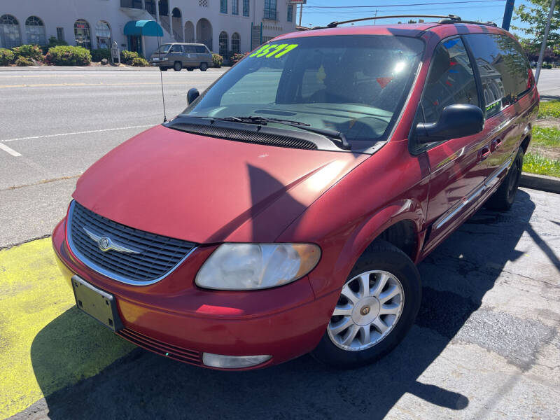 2003 Chrysler Town and Country for sale at American Dream Motors in Everett WA