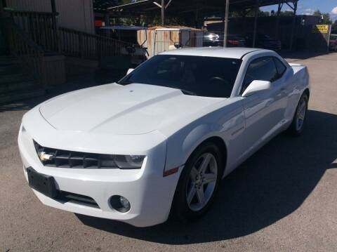2012 Chevrolet Camaro for sale at OASIS PARK & SELL in Spring TX