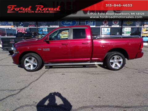 2015 RAM Ram Pickup 1500 for sale at Ford Road Motor Sales in Dearborn MI