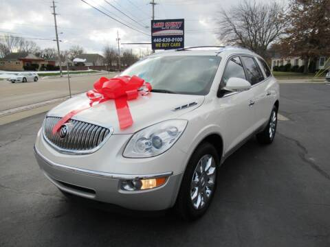 2010 Buick Enclave for sale at Lake County Auto Sales in Painesville OH