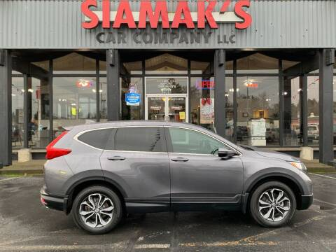 2019 Honda CR-V for sale at Siamak's Car Company llc in Salem OR