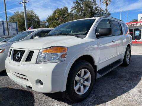 2013 Nissan Armada for sale at Always Approved Autos in Tampa FL