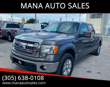 2013 Ford F-150 for sale at MANA AUTO SALES in Miami FL