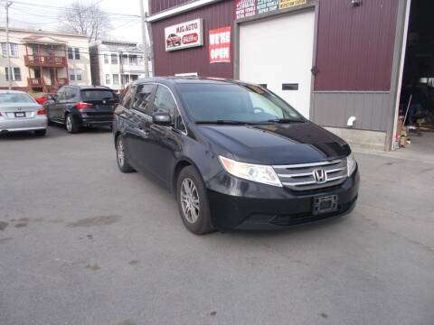 2012 Honda Odyssey for sale at Mig Auto Sales Inc in Albany NY