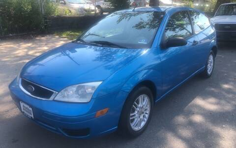 2007 Ford Focus for sale at DEALS ON WHEELS in Newark NJ
