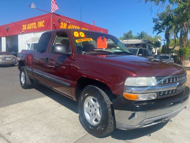 2000 Chevrolet Silverado 1500 for sale at 3K Auto in Escondido CA
