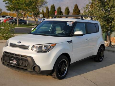 2015 Kia Soul for sale at FRESH TREAD AUTO LLC in Springville UT