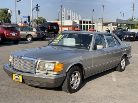 1991 Mercedes-Benz 560-Class for sale at Best Car Sales in South Gate CA
