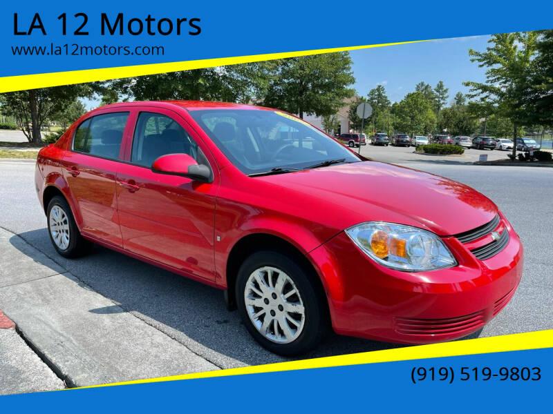 2009 Chevrolet Cobalt for sale at LA 12 Motors in Durham NC