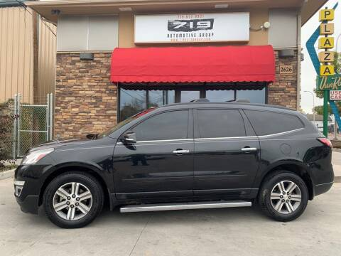2015 Chevrolet Traverse for sale at 719 Automotive Group in Colorado Springs CO