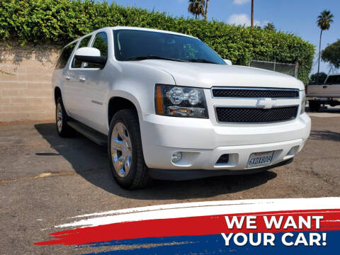 2012 Chevrolet Suburban for sale at My Next Auto in Anaheim CA
