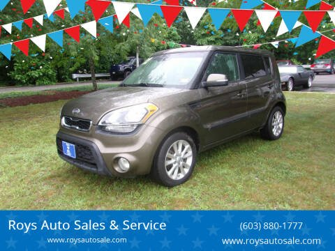 2012 Kia Soul for sale at Roys Auto Sales & Service in Hudson NH