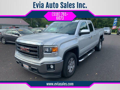 2015 GMC Sierra 1500 for sale at Evia Auto Sales Inc. in Glens Falls NY