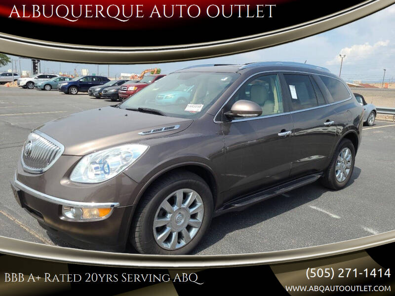 2012 Buick Enclave for sale at ALBUQUERQUE AUTO OUTLET in Albuquerque NM