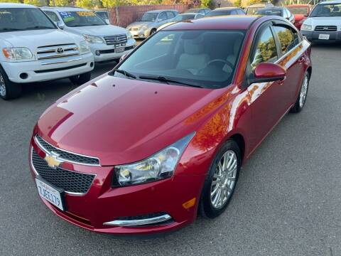 2014 Chevrolet Cruze for sale at C. H. Auto Sales in Citrus Heights CA