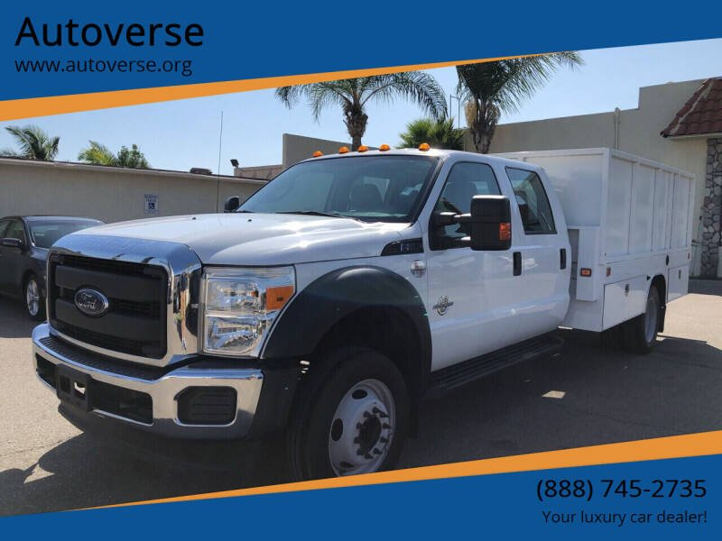 2016 Ford F-550 Super Duty for sale at Autoverse in La Habra CA