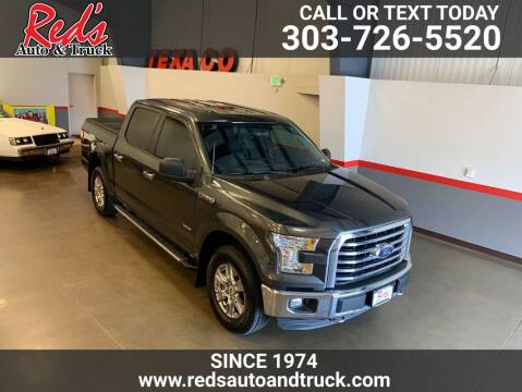 2016 Ford F-150 for sale at Red's Auto and Truck in Longmont CO