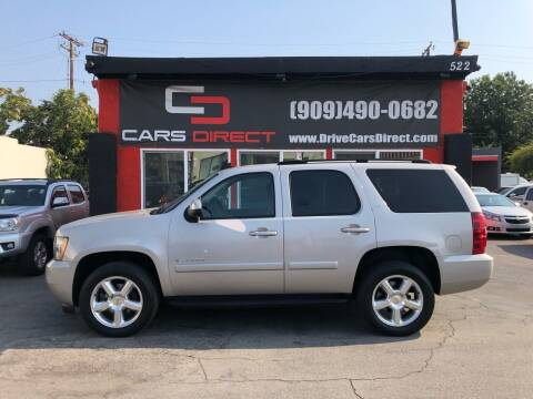 2007 Chevrolet Tahoe for sale at Cars Direct in Ontario CA