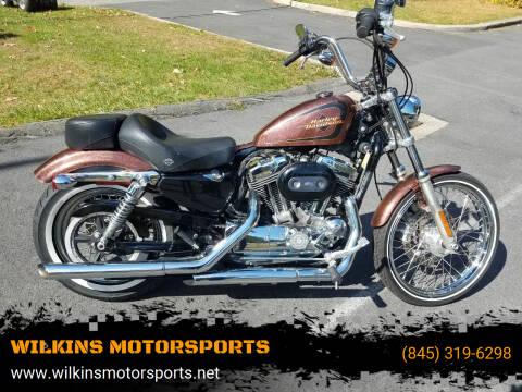 2014 Harley-Davidson Sportster Seventy-Two for sale at WILKINS MOTORSPORTS in Brewster NY