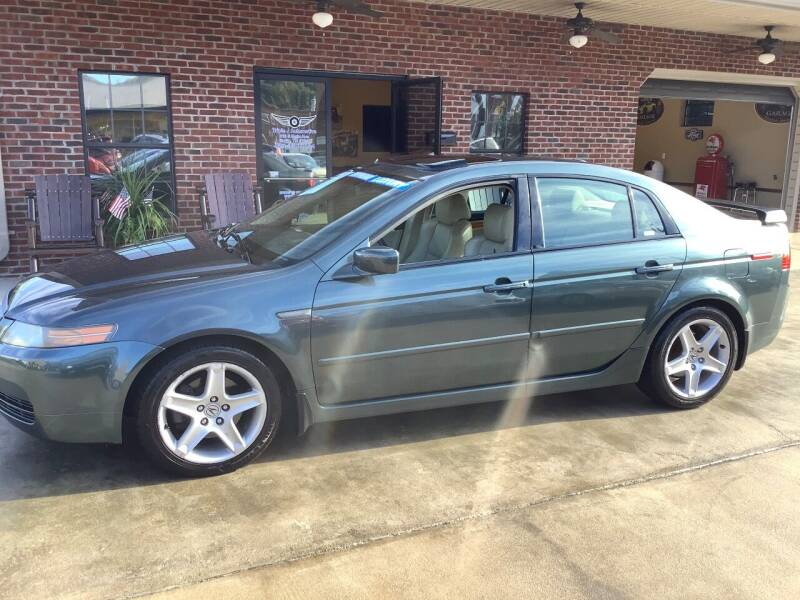 2004 Acura TL for sale at Triple J Automotive in Erwin TN