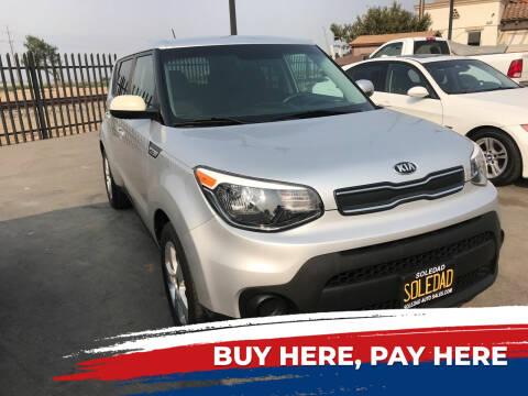 2017 Kia Soul for sale at Soledad Auto Sales in Soledad CA